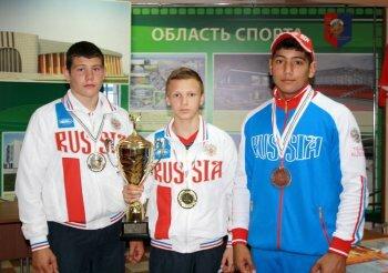Три тамбовских богатыря вернулись из Венгрии с победой